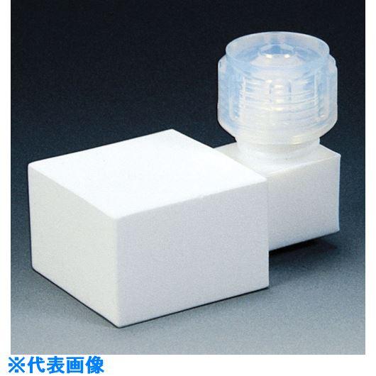 ■フロンケミカル フッ素樹脂 フィルター接続丸タイプ 8パイ 30×30×20  〔品番:NR1312-002〕[TR-7353201]