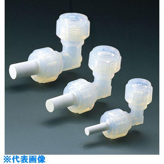 ■フロンケミカル フッ素樹脂フィルター(ユニオンエルボー付) 4パイ  〔品番:NR1412-001〕[TR-7353651]