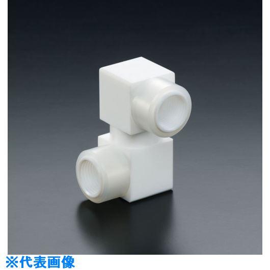 ■フロンケミカル フッ素樹脂フレキシブルカップリング RC1/4×RC3/8  〔品番:NR1655-002〕[TR-7354398]