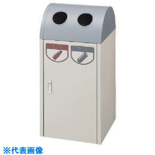 ■コンドル (屋内用屑入)リサイクルボックス A-2 モスグリーン 緑〔品番:YW-05L-ID〕[TR-7361262]【個人宅配送不可】