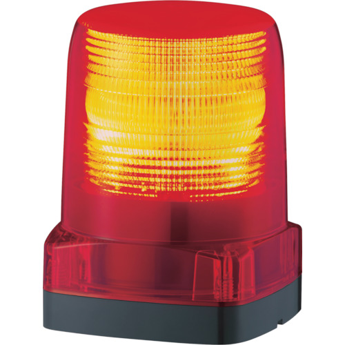 ■パトライト LEDフラッシュ表字灯  〔品番:LFH-24-R〕[TR-7514531]