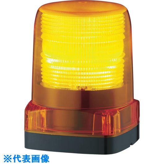 ■パトライト LEDフラッシュ表字灯  〔品番:LFH48Y〕掲外取寄[TR-7514573]