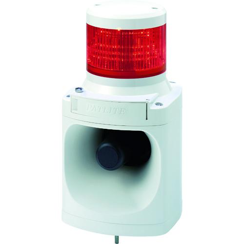 ■パトライト LED積層信号灯付き電子音報知器〔品番:LKEH-102FA-R〕[TR-7514620]
