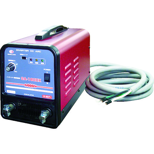■スワロー 電機 インバーター直流溶接機 単相200V〔品番:SA-180DX〕[TR-7515162]【個人宅配送不可】