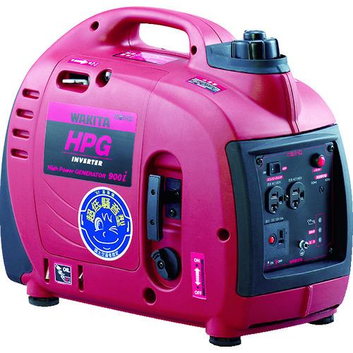 ■MEIHO エンジン発電機 HPG-900I  〔品番:HPG900I〕[TR-7517378]【大型・重量物・個人宅配送不可】