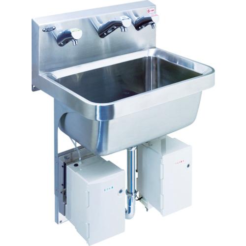 ■サラヤ 自動手指洗浄消毒器 WS‐3000BG〔品番:46623〕[TR-7537212]