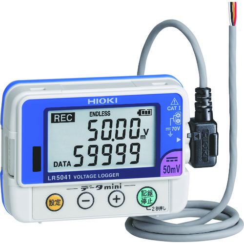 ■HIOKI 電圧ロガー  LR5041  〔品番:LR5041〕[TR-7538693]