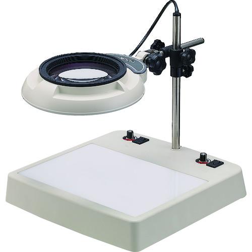 ■オーツカ LEDライトボックス式照明拡大鏡 ENVL-CL型 2倍〔品番:ENVL-CLX2〕[TR-7546017]【個人宅配送不可】