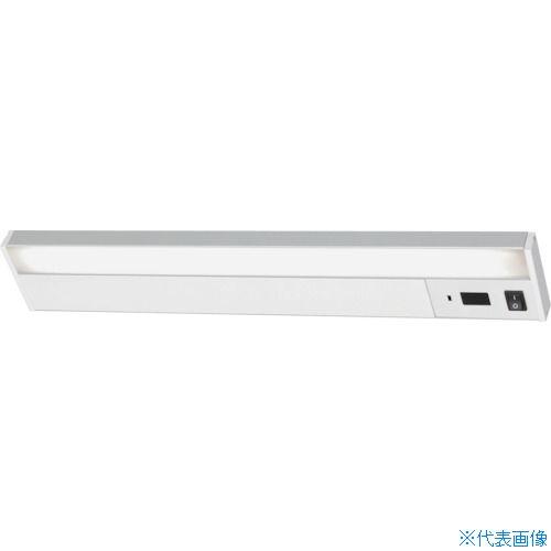 ■IRIS LEDキッチン手元灯 棚下専用 タッチレススイッチ 600lm〔品番:KTM6N-TS〕[TR-7562063]