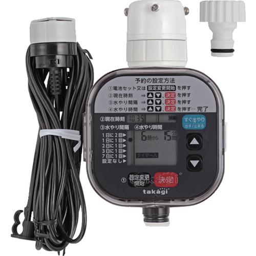 ■タカギ かんたん水やりタイマー雨センサー付  〔品番:GTA211〕[TR-7582714]