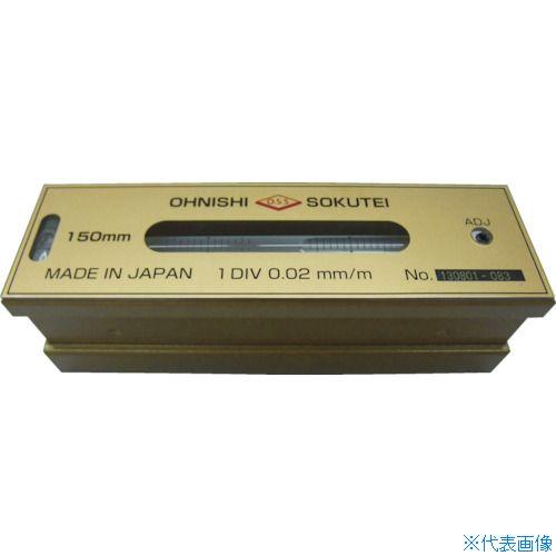 ■OSS 平形精密水準器(一般工作用)100MM  〔品番:201-100〕[TR-7605277]