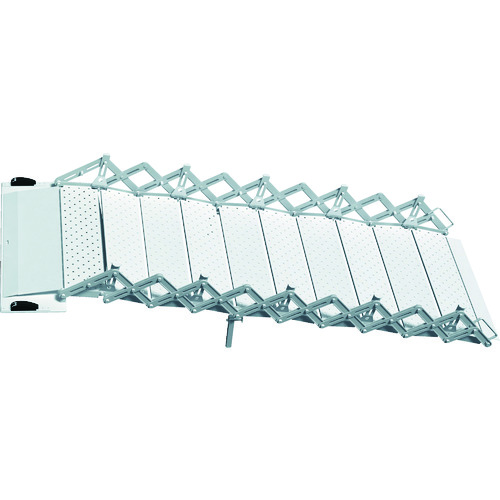 ■ALLSAFE エアラインレール用スロープ AR-L360MM 2本SET  〔品番:ASS-2100〕[TR-7634480]【大型・重量物・個人宅配送不可】
