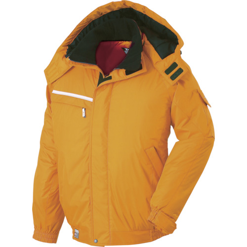 ■ジーベック 582582防水防寒ブルゾン オレンジ 3L  〔品番:582-82-3L〕[TR-7639503]