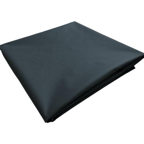 ■TRUSCO ターポリンシート ブラック 1800X3600 0.35MM厚  〔品番:TPS1836-BK〕[TR-7654286]