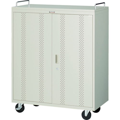 ■TRUSCO タブレット収納ロッカー 40台用〔品番:TBL-40〕[TR-7657943]【個人宅配送不可】