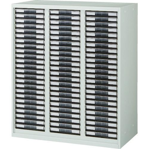 ■TRUSCO ユニット型壁面書庫 カタログケース 引出A4 浅X72 W色  〔品番:URW-1134A〕[TR-7658231]【大型・重量物・個人宅配送不可】