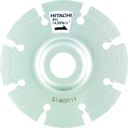 ■HiKOKI ダイヤモンドカッタ 105mmX20 (オフセットセグメント)〔品番:0032-6077〕[TR-7677197]