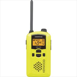 ■ケンウッド 特定小電力トランシーバー(交互通話)〔品番:UBZ-LP20Y〕[TR-7704020]