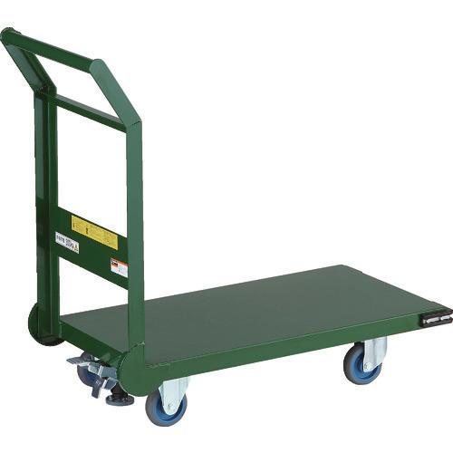 【受注生産品】   〔品番:SH-3NACSS〕[TR-7726457]【個人宅配送】:ファーストFACTORY ?TRUSCO 鋼鉄製運搬車 800X450 100エアキャスター LS付-DIY・工具