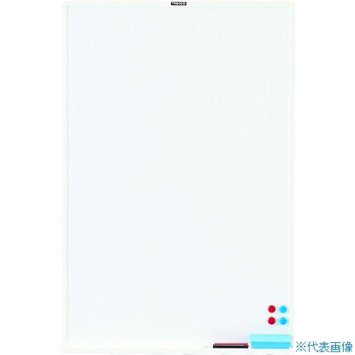 ■TRUSCO スチール製ホワイトボード 白暗線 ブロンズ 900X600  〔品番:WGH32SA-BL〕[TR-7730314]【個人宅配送不可】