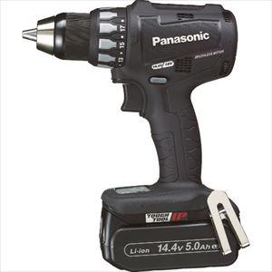 ■Panasonic 充電ドリルドライバー 14.4V 5.0Ah (黒)〔品番:EZ74A2LJ2F-B〕[TR-7771681]