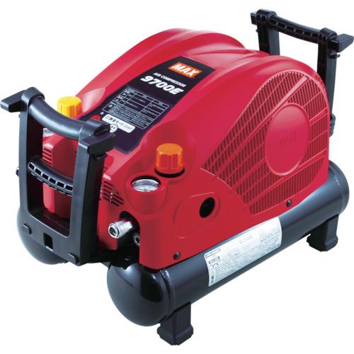 ■MAX スーパーエアコンプレッサ 高圧・常圧兼用機〔品番:AK-HL9700E〕[TR-7797711]【大型・重量物・個人宅配送不可】