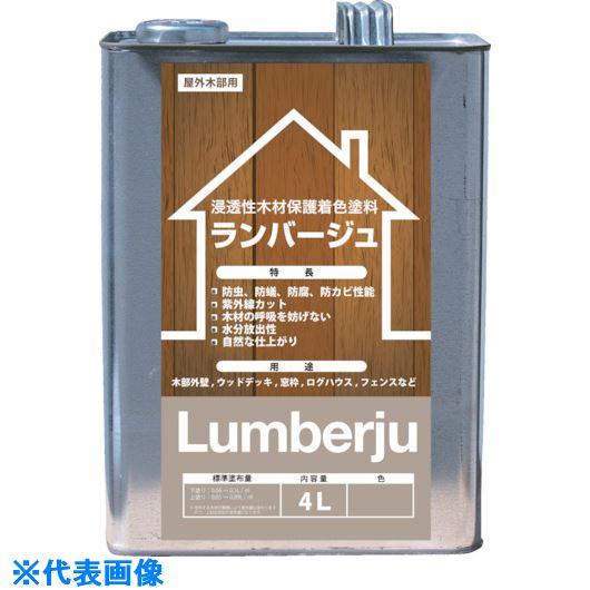 ■ABC ランバージュスタンダード ジェットブラック 4L《4缶入》〔品番:LJ4L-N-JB〕[TR-7843283]
