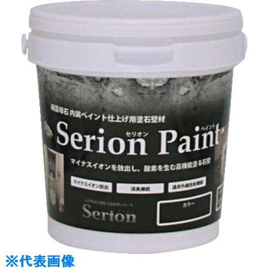 ■ABC セリオンペイント 1.5kg グリーン《12缶入》〔品番:SP1.5-GR〕[TR-7844093]