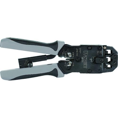■パンドウイット モジュラプラグ圧着工具 マルチタイプ〔品番:MPT5E〕[TR-7868162]