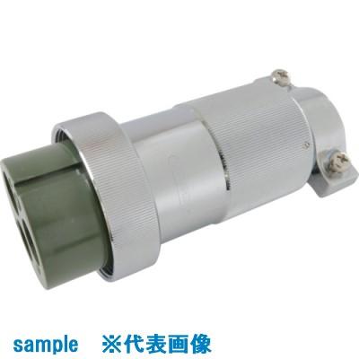 ■七星 防水メタルコネクタ NWPC-50シリーズ 3極 P18〔品番:NWPC-503-P18〕[TR-7909535]