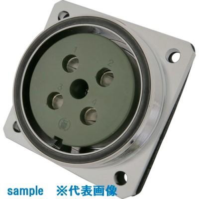 ■七星 防水メタルコネクタ NWPC-64シリーズ 3極 RF〔品番:NWPC-643-RF〕[TR-7913206]