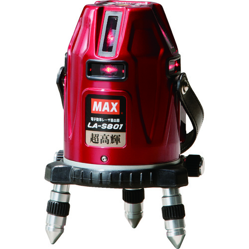 ■MAX 電子整準レーザ墨出器 LA-S801  〔品番:LA-S801〕[TR-7996730]
