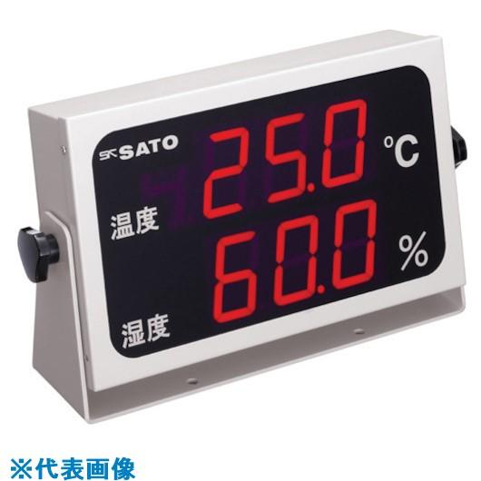 ■佐藤 温湿度表示器 SK-M350-TRH (8092-50)  〔品番:SK-M350-TRH〕[TR-8051231]