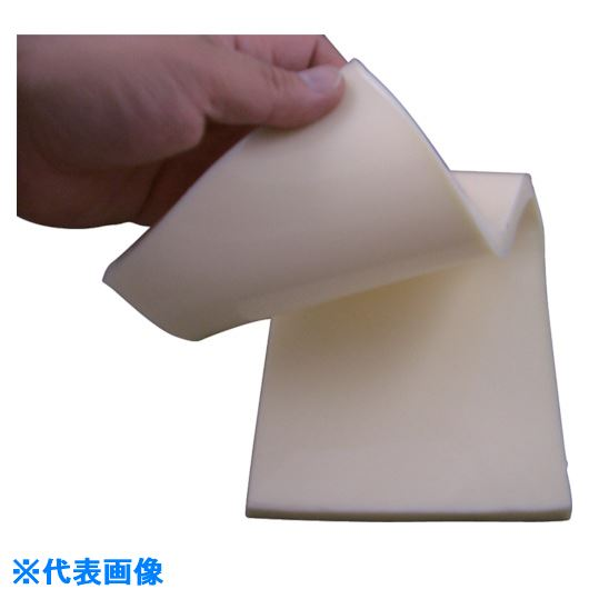 ■エクシール 人肌のゲルシート片面非粘着硬度0 400×500厚さ3.0乳白色〔品番:H0-3K〕[TR-8066978]