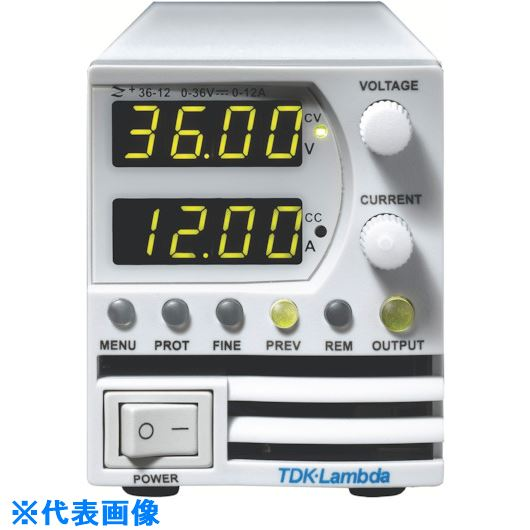 ■TDKラムダ 超小型高電力密度CVCC可変電源Z+シリーズ 400W〔品番:Z10-40-J〕[TR-8069543]