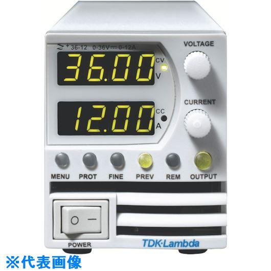 ■TDKラムダ 超小型高電力密度CVCC可変電源Z+シリーズ 600W〔品番:Z36-18-J〕[TR-8069559]
