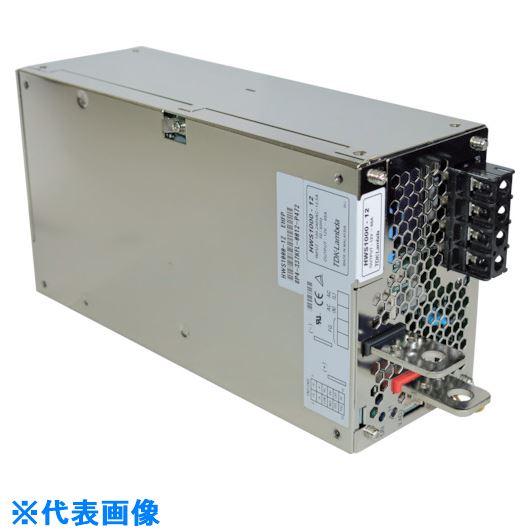 ■TDKラムダ AC-DCスイッチング電源HWSシリーズ1000Wカバー付最大出力電流18.4A〔品番:HWS1000-60〕[TR-8069590]