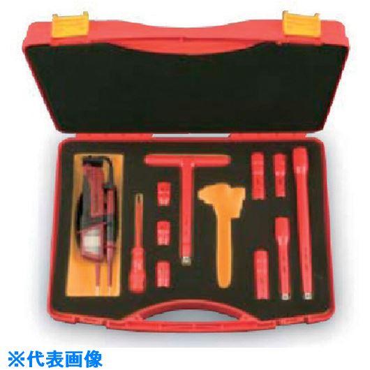 ■KTC 絶縁工具セットD〔品番:ZTB310V〕[TR-8071032]