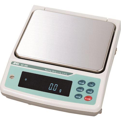 ■A&D 汎用電子天びん0.1g/31kg〔品番:GF30K〕[TR-8072264]【個人宅配送不可】