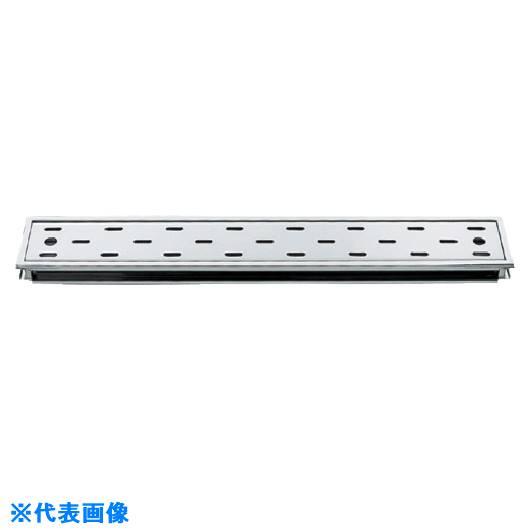 ■カクダイ 長方形排水溝(浅型)  〔品番:4204-100X600〕[TR-8076545]
