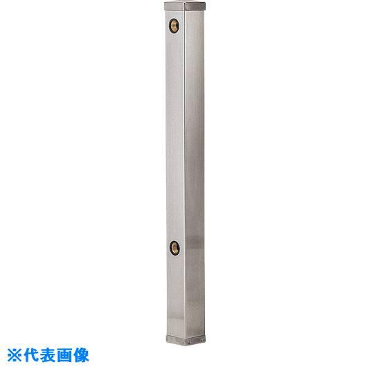 ■カクダイ ステンレス水栓柱(20ミリ)  70角  〔品番:6161B-20X1500〕取寄[TR-8077573]