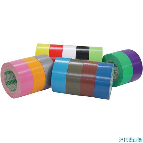 ■オカモト 布テープ 100mm×25m 白《18巻入》〔品番:111-W-100〕[TR-8080935×18]