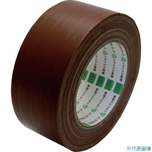 ■オカモト 布テープ 50mm×25m こげ茶《30巻入》〔品番:111-Z-50〕[TR-8080938×30]