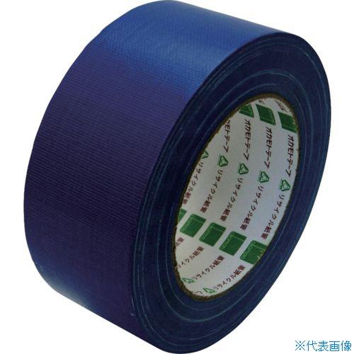■オカモト 布テープ NO111カラー 青 50ミリ シュリンク包装《30巻入》〔品番:111B50S〕[TR-8080947×30]