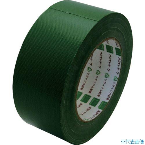 ■オカモト 布テープ NO111カラー 緑 50ミリ《30巻入》〔品番:111G50〕[TR-8080948×30]