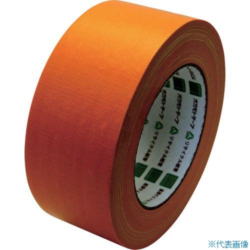 ■オカモト 布テープ NO111カラー オレンジ 50ミリ シュリンク包装《30巻入》〔品番:111M50S〕[TR-8080953×30]
