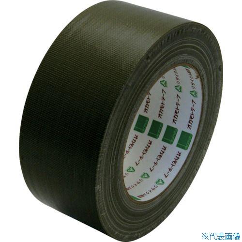 ■オカモト 布テープ NO111カラー オリーブ 50ミリ《30巻入》〔品番:111O50〕[TR-8080954×30]