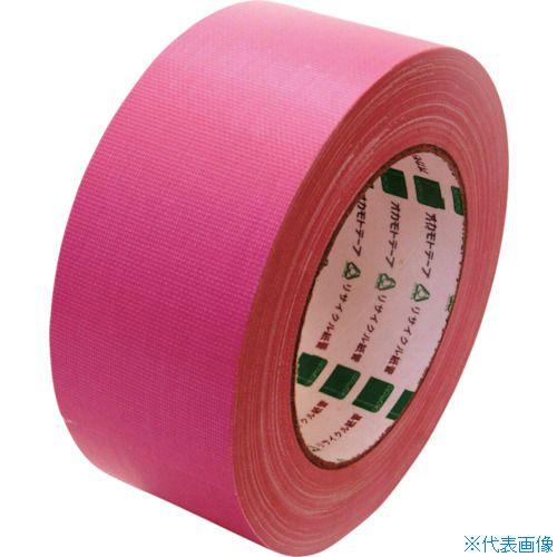 ■オカモト 布テープ NO111カラー ピンク 50ミリ シュリンク包装《30巻入》〔品番:111P50S〕[TR-8080956×30]
