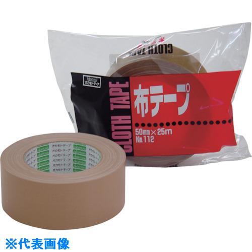 ■オカモト 布テープ NO112 50ミリ シュリンク包装《30巻入》〔品番:11250S〕[TR-8080966×30]