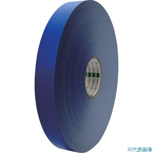 ■オカモト クラフトテープ NO224WC環境思いカラー長尺 青38ミリ×500M 6巻入 〔品番:224WC38500B〕[TR-8080994×6]